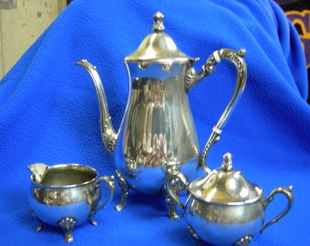 Leonard silverplate 3 pc.