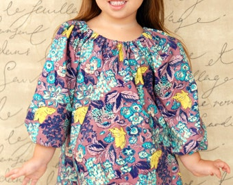 Girls Peasant Top Opulence Collection Toddler Infant Girls