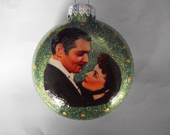Single Ornaments - Gone With The Wind Inspired
