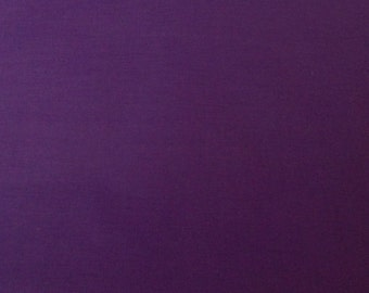 Purple Fabric Solid Color Cotton Fabric Sewing Supply Quilting Supply Needlecraft Supply