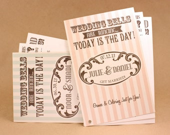 WEDDING BELLS -- Activity Books, Colorful, Entertaining, Great for Kids