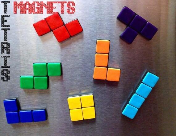 Tetris Magnet Set (7 Pieces) - Nintendo