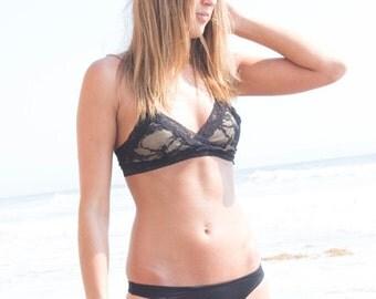 Lingerie Bralette Black Lace Sexy Lingerie - Monroe Bralette