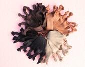Thick Hair Elastic Hair Ties Set of 10. Elastic Hairbands. Thick Hair Ties. Hair Color Hair Ties.