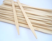 WOOD PICK - QTY 50 - 3 1/2 inches - Lollipop Stick - Wood Stick - Treat Making - Party Supply - Cupcake Topper Supply