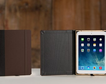 The Graduate Edition Case for iPad 2017 - Onyx Black with French Roast