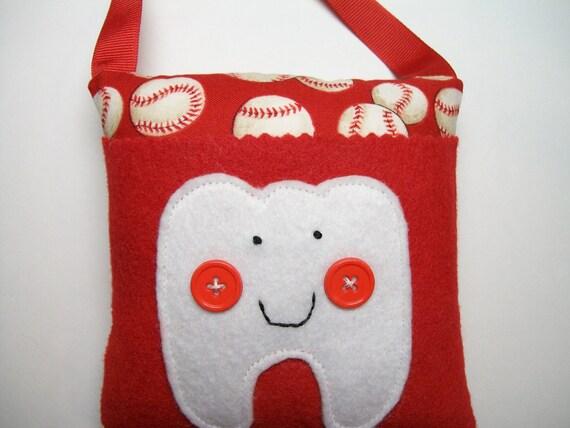 Baseball Tooth Fairy Pillow for Boys