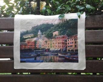 Portofino counted cross stitch