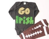 Go Irish, shirt, oneise, baby leg set