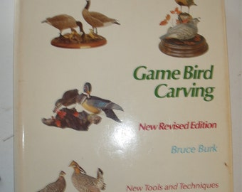 Game Bird Carving, Bruce Burk