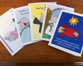 Choose-Your-Own--Lab Mice cards--pack of 5