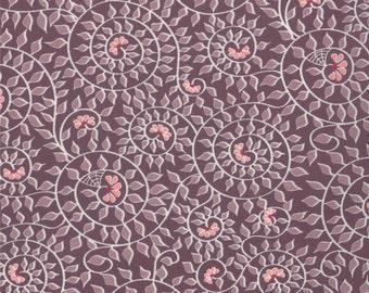 Chantilly - Garden Spiral in Berry by Lauren + Jessi Jung for Moda Fabrics