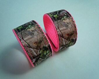 Camo Mossy Oak Real Tree Sleeve Scrunchies Holders You Choose Colors