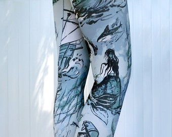 Sea Voyage Leggings