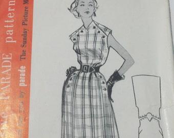 Vintage Parade Dress Pattern