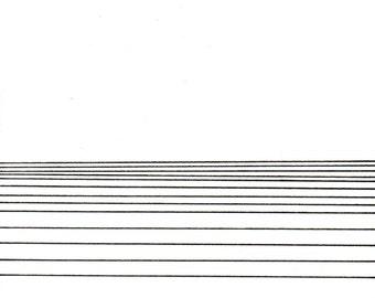 "Horizon 2, small, original, 6"" x 7"""