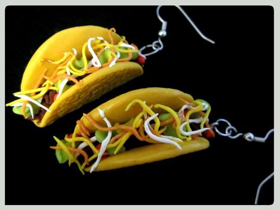 Taco Earrings