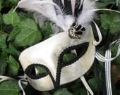 Swan Princess Masquerade Mask