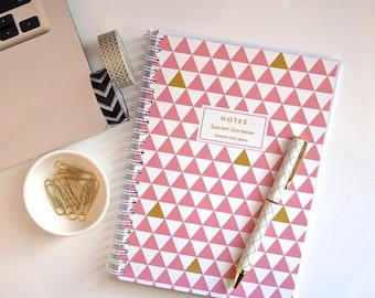 Personalized Notebook - Triangles