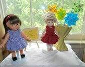 Knit Wrap Dress for 8 inch Mini Corolle or Ginny Doll