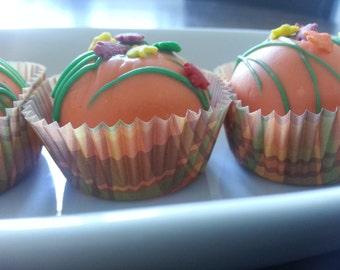 Fall Thanksgiving Harvest Handmade Gourmet Cake Ball Bites ~ 8 pack
