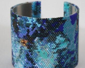 Pines Beaded Cuff Bracelet