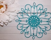 Iron Wall Decor/ Wrought Iron / Shabby Chic Decor / Bedroom Wall Decor / Kitchen Decor
