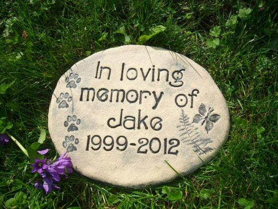 Pet Memorial Garden Stones Custom Grave Markers For Pets In