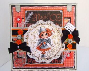 Halloween Tabletop Decor - Wizard Of OZ - Tin Girl - Halloween Gift - Handmade Home Decor