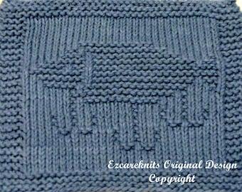 Knitting Cloth Pattern  - FISHING LURE - PDF
