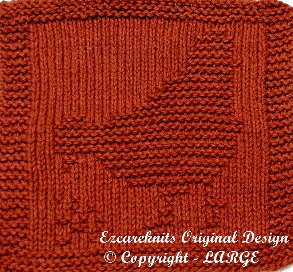 Knitting Oil Washable : Large knitting cloth pattern hen pdf