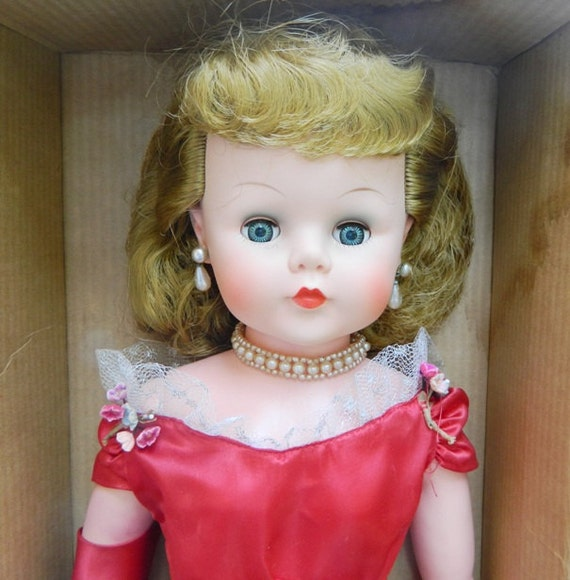 1950s Deluxe Reading 30 Inch Sweet Ann Doll in Box