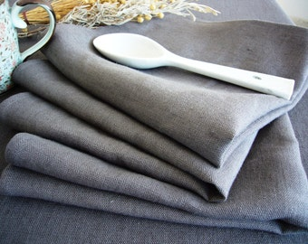 Linen napkin set -Softness- softened stonewashed linen, table linens, slate grey linen, Eco-friendly, table decor,