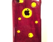 Handcrafted Purpleheart  Case for iPhone5c