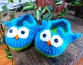 Baby Owl Booties