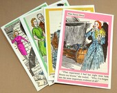 Nancy Drew Notecards made from Recycled Books