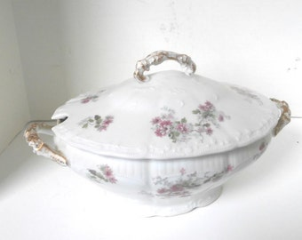 Rare L R L Limoges Soup Tureen France Circa 1920s