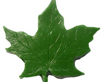 MAPLE LEAF Soap Bar Novelty Glycerin Nature Tree Handcrafted Natural Vegan U Pick Color Scent