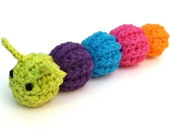 Catnip Caterpillar - Catnip Cat Toy