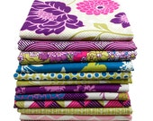 Half Yard Bundle - Joel Dewberry - BUNGALOW Bramble Palette - Free Spirit Fabric - 12 pcs