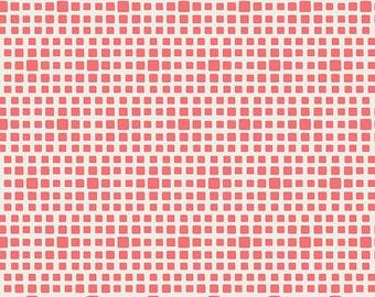 SQUARED ELEMENTS - Watermelon SE-600  - Art Gallery Fabrics - 1 yard