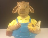 Music Box, Ceramic Roly Poly Cow