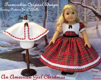PRINTED Sewing Pattern / An American Girl Christmas / Historical patterns for American Girl Dolls