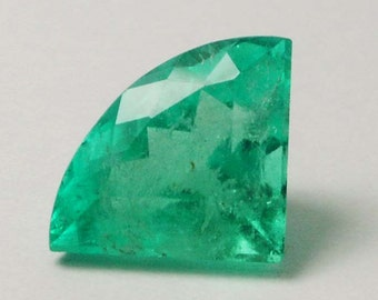 Glorious! 2.02cts Loose Natural Colombian Emerald ~ Kite Cut