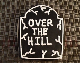 1 Dz Over the Hill Sugar cookies