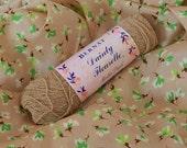 Wool Blend Yarn Nylon Crepe Yarn Sock Weight Bernat Dainty Fleurette Fawn Beige