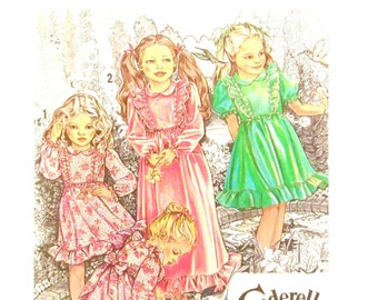 Vintage Cinderella Flower Girl Party Dress Pattern Size 3 Chest 22