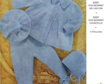Knitting pattern Emu 8225. 1 - 18 months.