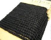 Black Hemp Rope, 4mm Thick Twisted Eco Friendly Rope Cord