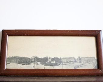 Antique Cityscape Print of Copenhagen